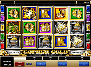 Gopher Gold 2