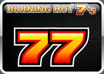 Игровой автомат Burning Hot 7's